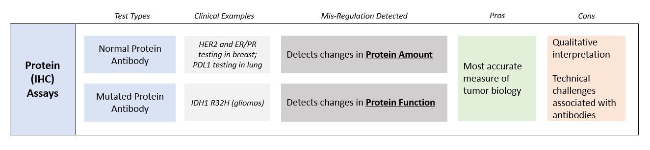 PM Part I - Protein Assays Diagram - Blue Matter Consulting