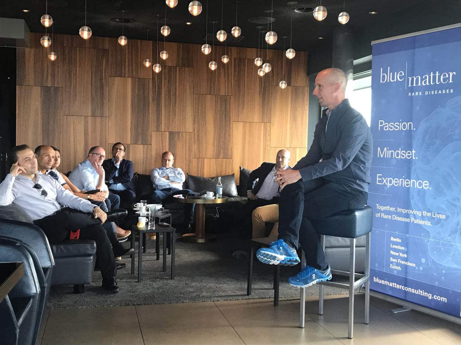 Blue Matter Breakfast Club 2, Nick Leschly, CEO of bluebird bio