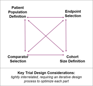 Key clinical trial design considerations for rare diseases