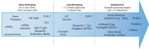 Emerging vs Established Oncology Therapeutics